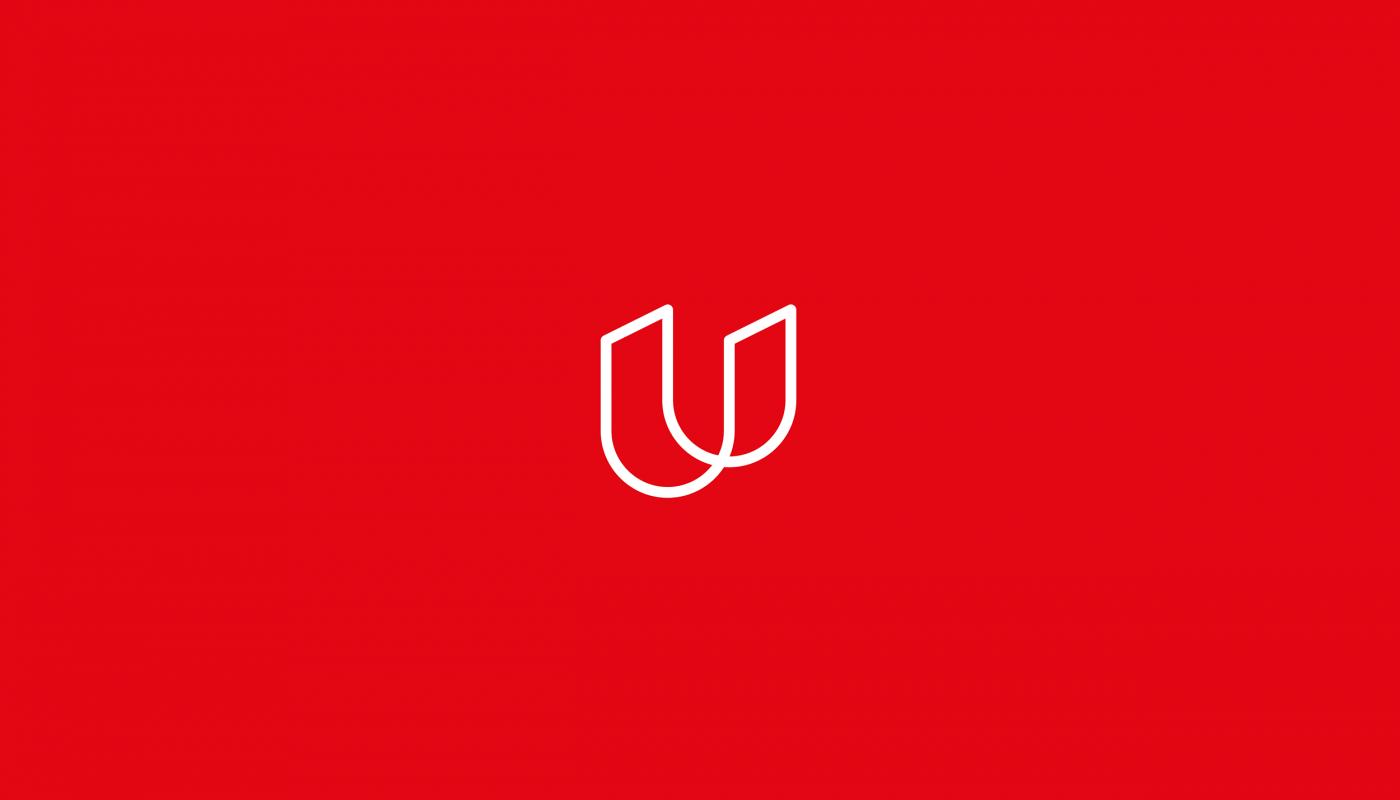 Letter U font design for 36daysoftype