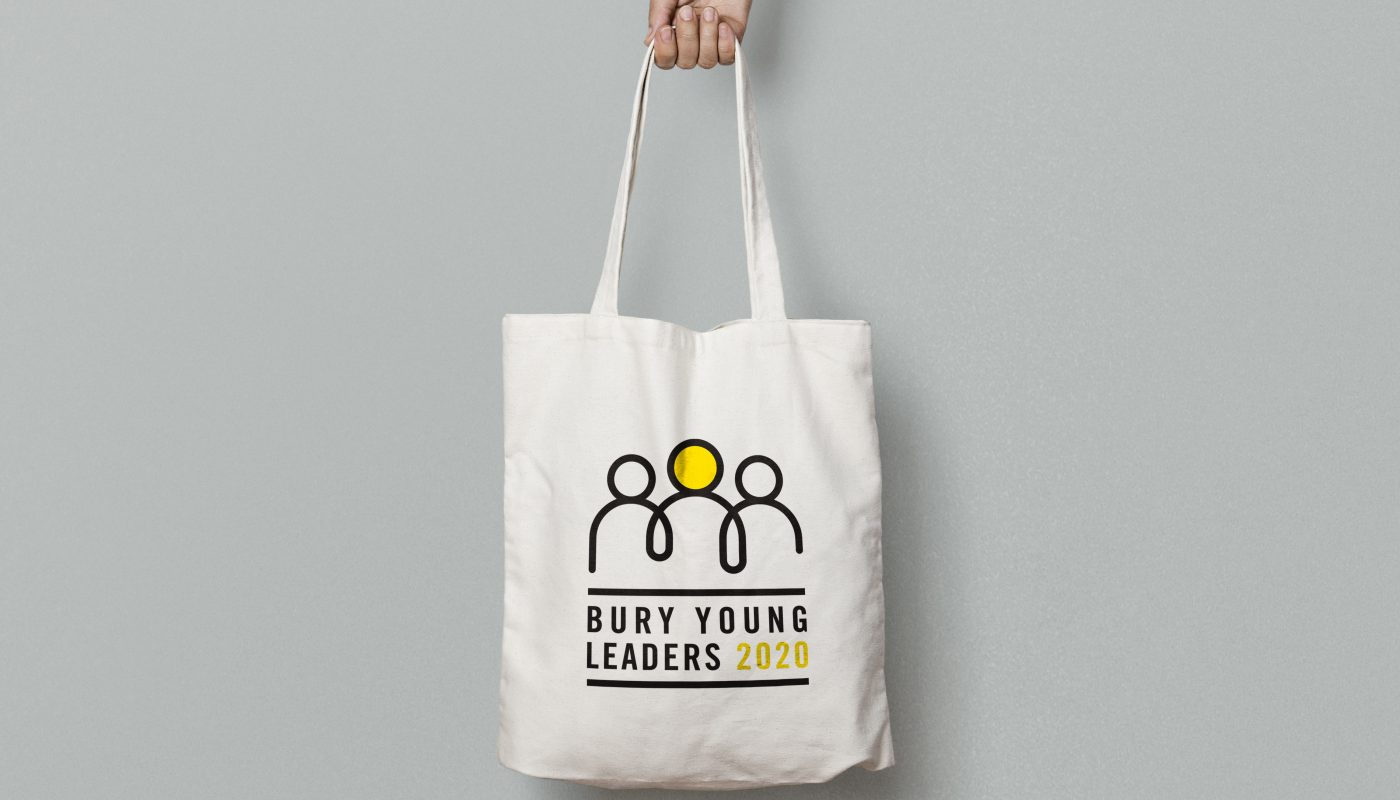 Creative graphic design for Bury Councils Bury Young Leaders Project.