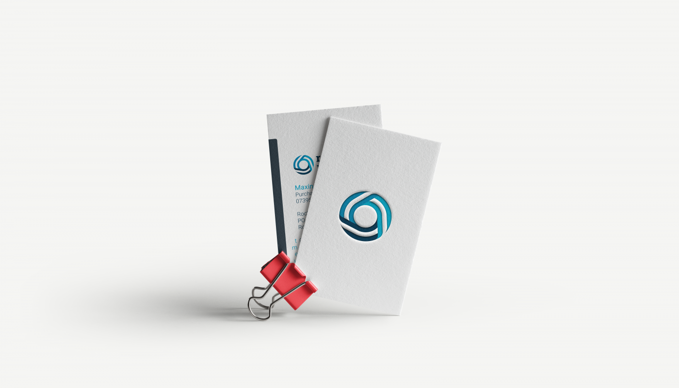 Business cards printed for a business based in Bury from a local Bury based printing company.